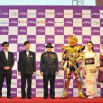 『黄金騎士ガロ』プチョン国際ファンタスティック映画祭のレッドカーペットにトップバッターで登場!