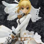 ゲーム『Fate/EXTRA CCC』より拘束の花嫁衣裳を身にまとった『セイバー・ブライド』フィギュア予約開始!