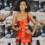 恐怖で体温は下がるのか!?映画 『インシディアス』イベントで岡本夏生が人体実験に挑戦!!
