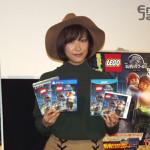 ゲーム『LEGO ジュラシック・ワールド』発売記念イベントに元SKE48佐藤聖羅が登場!「恐竜と一緒に生活したいという夢が叶った」