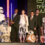 R2-D2、BB-8も登場!『スター・ウォーズ/フォースの覚醒』ジャパンプレミア開催!