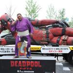 全長7Mの超巨大『デッドプール』トラックが大阪に出現!