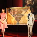 鶴太郎&トリンドル玲奈が絵画に隠された謎に挑む!映画『インフェルノ』特別イベントを実施!