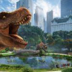 『ジュラシック・ワールド/炎の王国』の携帯ARゲームが登場!位置情報技術と拡張現実で現代に甦った恐竜たちを収集!