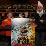 リリカルスクールも大興奮!『シャークネード ラスト・チェーンソー 4DX』コスモプレミア試写会実施!