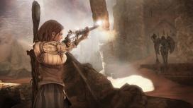 PRESSKIT_FableIII_Screenshot_Female Hero Fires Rifle_06142010.jpg